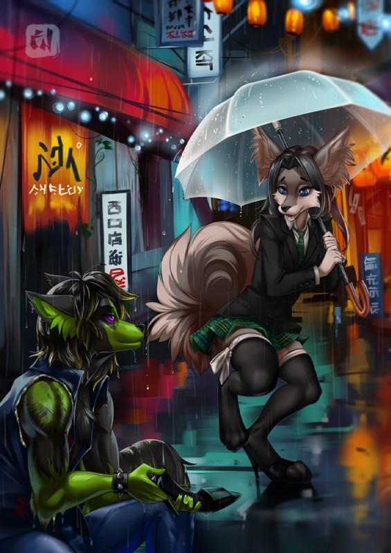 What a gentleman Its a trap!, Furry trap, Dragonfu