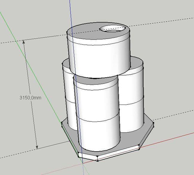 Как я сделал септик на три емкости, но с одним люком. Строительство, Канализация, Частный дом, Длиннопост