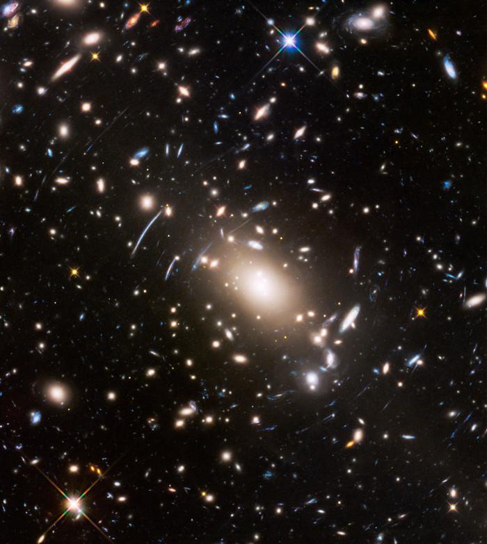 """""""Качающиеся галактики"""" Темная материя, Космос, Гравитационная линза, Видео, Длиннопост"""