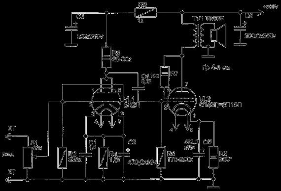 Однотактный ламповый усилитель своими руками Усилитель, Ламповость, Аудиофилия, Музыка, Своими руками, Видео, Длиннопост