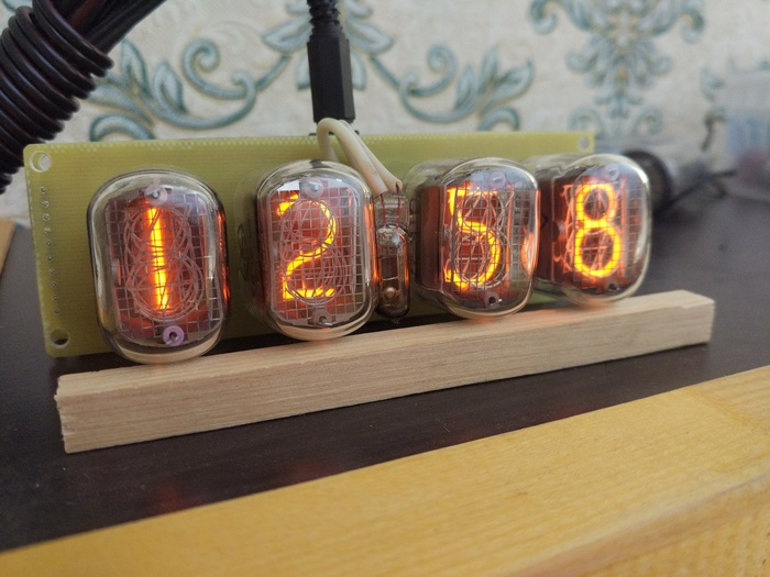 RGB часы Nixie clock на ИН-12 Nixie clock, Diy lamp, Никси, Ламповые часы, Длиннопост