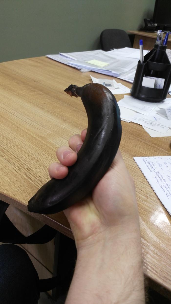 Помыл банан перед работой Черный банан, Кипяток, Помыл банан, Работа, Длиннопост