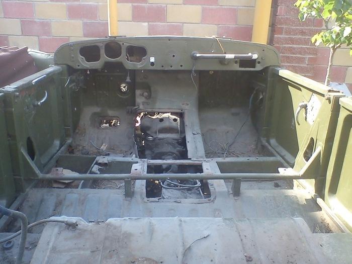 Как я собирал Газ-69а, часть 1. Газ-69, Реставрация автомобиля, Самара, Длиннопост