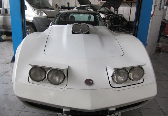 Corvette Stingray: немного автонекромагии - и будет как новенький! Реставрация, Автосервис, Кузовной ремонт, Chevrolet Corvette Stingray, Corvette, Длиннопост