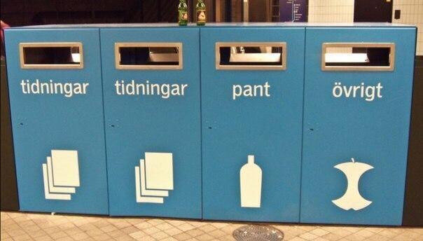 В Швеции закончился мусор Швеция, мусор, переработка мусора, экология, длиннопост