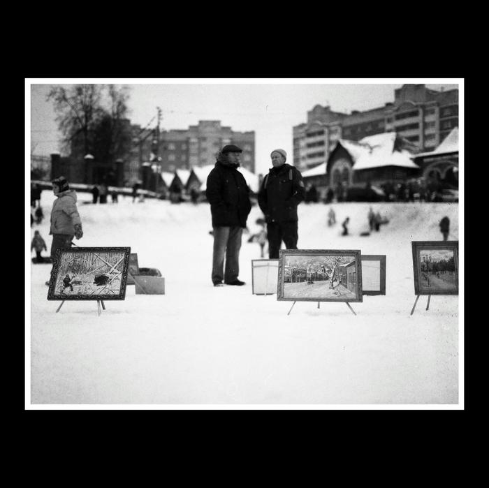 Мороз в Раменском Моё, Черно-Белое, Фотография, Пленка, Пленка не умерла, Фотопленка, Средний формат, Раменское, Длиннопост