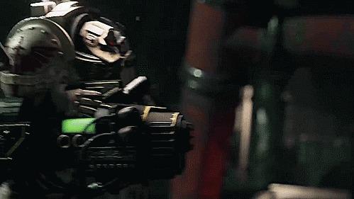 Plasma cannon terminator Warhammer 40k, Gif анимация, Плюсы, Spacehulk: Deathwing, Wh Other, Гифка