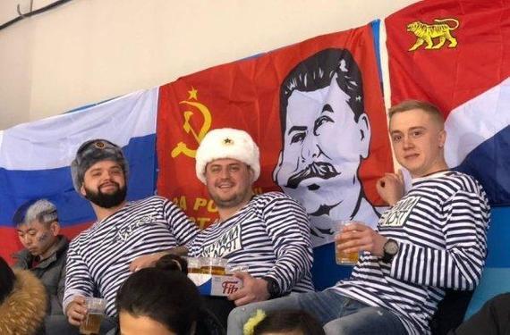 Что Сталин животворящий делает! МОК, Олимпиада 2018, Сталин, Спорт, Политика