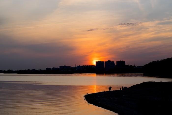 Воспоминания о лете. Казань, Волга, 2017