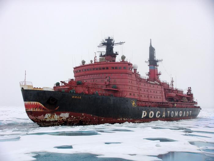 Полярный призрак. Атомный ледокол, Ямал, Арктика, Фотография, Росатомфлот