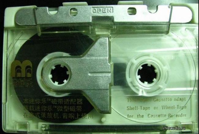 ShellTape — аудиокассета с открывающейся крышкой для удобства замены ленты Кассета, Пленка