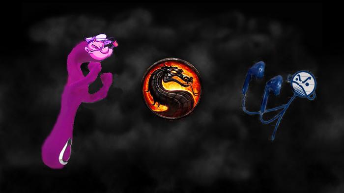 Fight! Моряк Попай, Вибратор, Наушники, Фотошоп мастер, Фотожаба, Mortal kombat