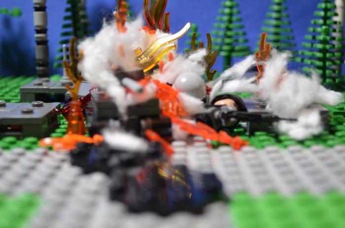 Танковое сражение в микромасштабе Lego танки, Танки, Леголас, Видео, Длиннопост