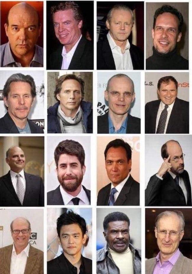 Актёры которых ты знаешь, но не знаешь их имени