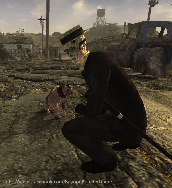 Купол Боулдера Fallout, Fallout: New Vegas, Bethesda, Obsidian Entertainment, Видео, Длиннопост