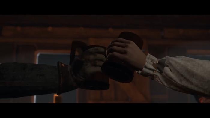 Музыка из кат-сцены про пьянку с отцом Богутой Kingdom Come: Deliverance, Музыка, Саундтрек, Видео