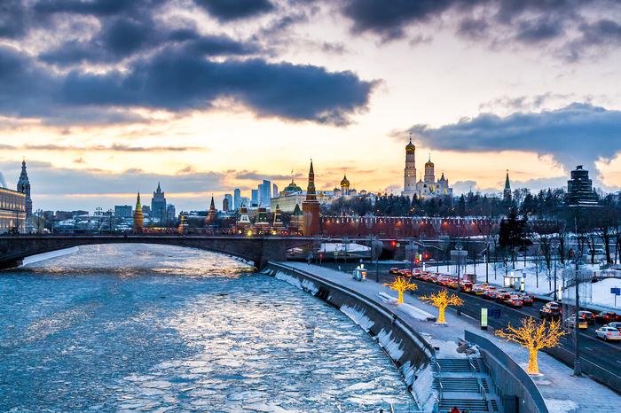 Морозный вечер в Москве. Москва, Фотография, Фотограф, Canon5D, Длиннопост