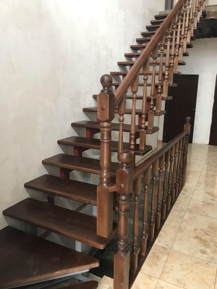 Деревянная лестница из сосны. Рубрика До/После. Лестница, Дерево, Изготовление, Моё, Краснодар, Интерьер, Дизайн, Длиннопост