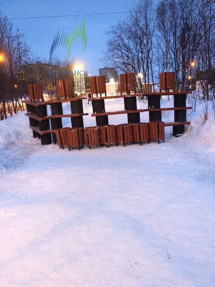 Ты не пройдешь Мурманск, Скамейки, Доброе утро, Хулиганство