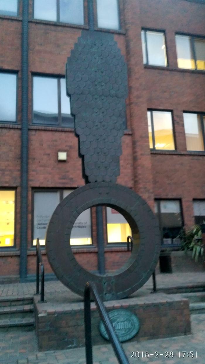 Памятник в честь Насти Рыбки