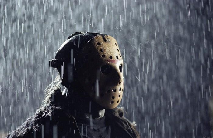 Фанат установил памятник Джейсону Вурхизу... под водой Я знаю чего ты боишься, Ужасы, Фанаты, Пятница 13, Джейсон вурхис, Памятник, Видео, Длиннопост