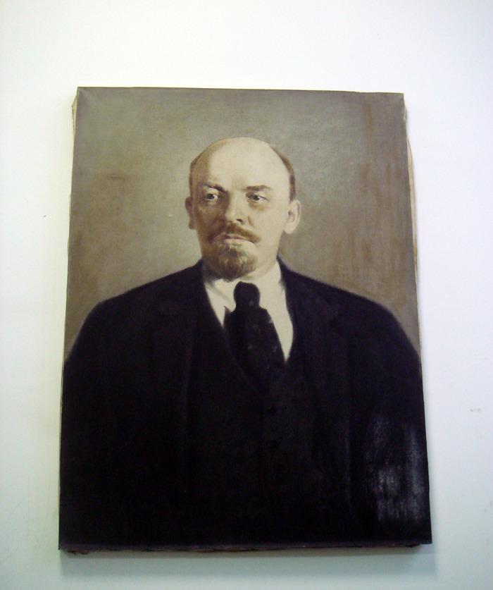 Ленин и лампа. Ленин, Работа, Рабочее место, Портрет, Настольная лампа, Длиннопост