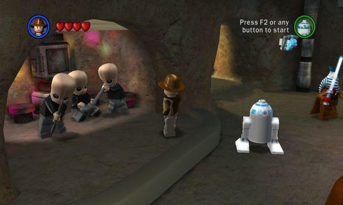 Если выключить музыку в Lego Star Wars, то музыканты Cantina Band будут стоять рядом озадаченными Игры, Факты, Lego, Лего звездные войны, Star wars