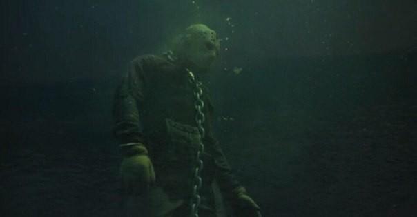 Кёртис Лар поместил статую Джейсона Вурхиза в озеро города Кросби, Миннесота. Jason Voorhees, Джейсон вурхис, Видео