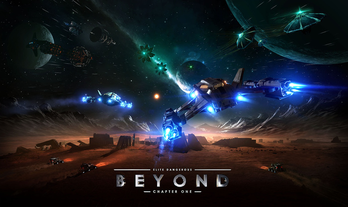 Вышла первая глава Elite Dangerous: Beyond Elite Dangerous, Дополнение, Компьютерные игры, Видео, Длиннопост