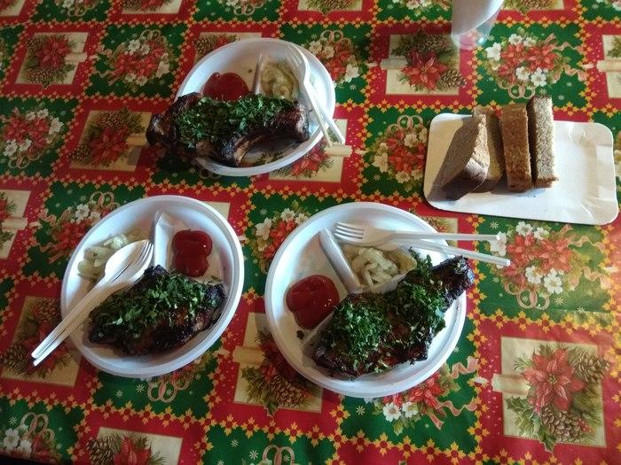 Придорожное кафе. Съездили :) шашлык, повар от бога, архангельск, Нарьян-Мар, реклама, еда