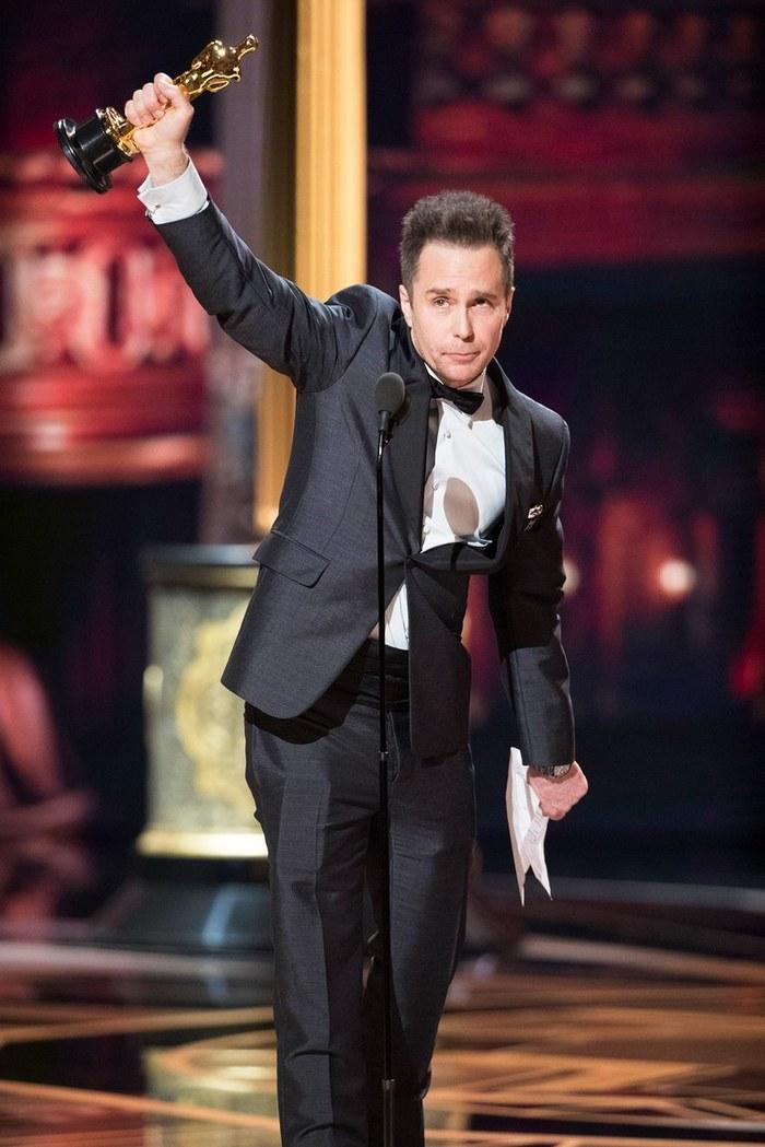 Сэм Рокуэлл и его Оскар за лучшую мужскую роль второго плана Оскар, Сэм Рокуэлл, Три билборда, Фильмы