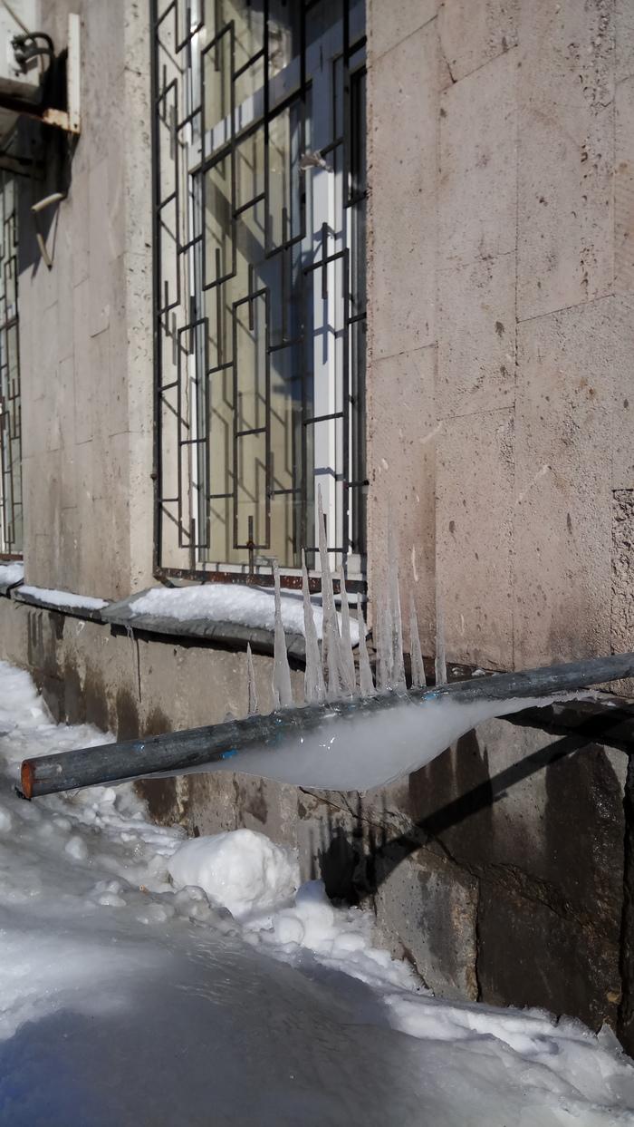 Что-то тут не так Сосульки, Москва, Длиннопост, Фотография