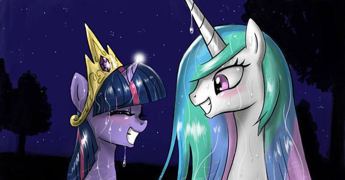 Принцесса селестия луна и твайлайт картинки