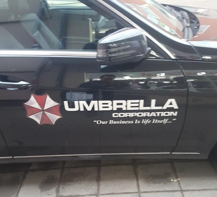 Хороший бренд, раскрученный... Umbrella corporation, Пора валить, Alice, Resident evil