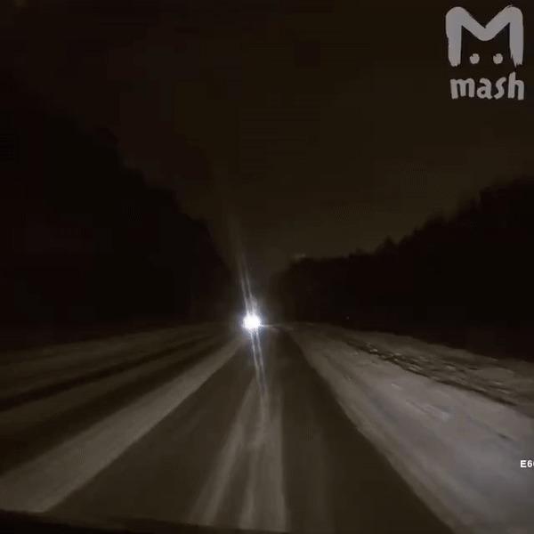 Эта ночь в Екатеринбурге на пару секунд превратилась в день. Метеор, Екатеринбург, Гифка, MASH