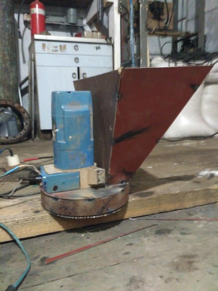 Зернодробилка из электропилы. Зернодробилка, Рукожоп, Своими руками, Длиннопост