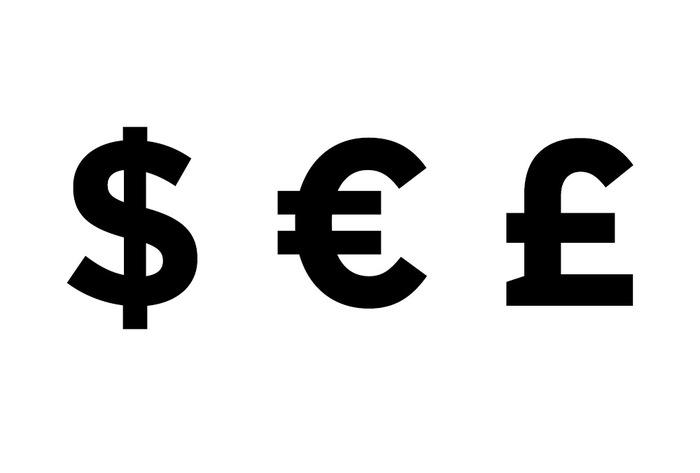 Происхождение символов денег: доллар, фунт и евро. Доллар, Евро, Фунт стерлинга, Происхождение, Длиннопост