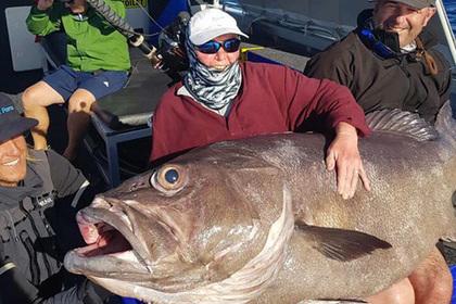 Старушка поймала рыбу размером с себя и решила кормить ей сына.