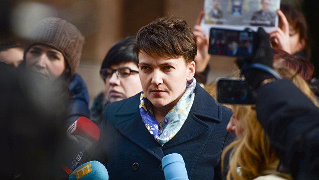 Савченко могут обвинить в подготовке военного переворота на Украине Украина, Политика, Савченко, Рубан