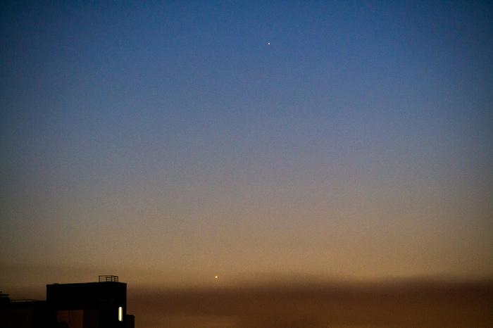 Ближайшие дни — благоприятное время для наблюдения Меркурия на вечернем сумеречном небе Меркурий, Венера, Астрономия