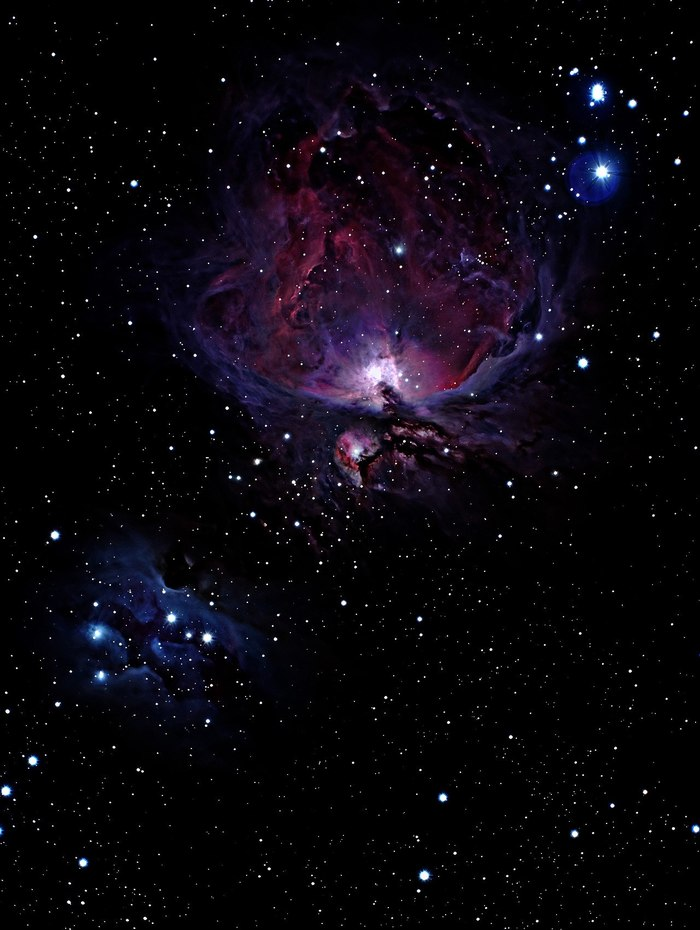 orion nebula pictures - HD 1280×1701