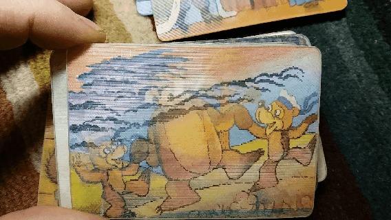 Советские календарики переливные в Gif Gif анимация, Ретро, СССР, Календарь, Гифка, Длиннопост