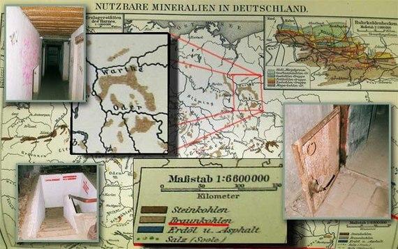 Тайны Третьего Рейха: «Лагерь дождевого червя» Длиннопост, Historyporn, Нацисты, Бункер, Загадки истории