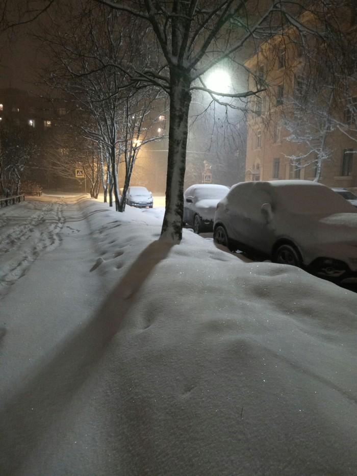 Теплый весенний вечерок или шло 48 февраля. Местоположение Кронштадт Весна, Снежно, Длиннопост