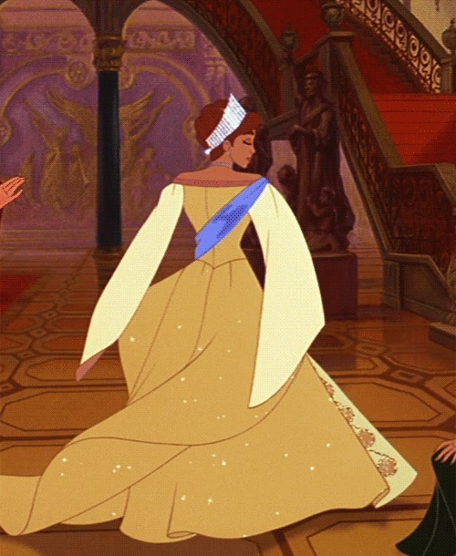 Anastasia - by -Aichan Косплей, Принцесса, Анастасия, Девушки, Aichan, Гифка, Длиннопост, 20th Century Fox