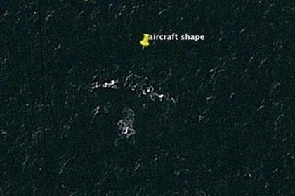 Пропавший малайзийский Boeing «нашли» на картах Google Google maps, Самолет, Malaysia Airlines, Авиакатастрофа