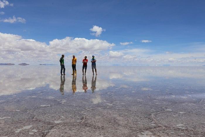 Одно из самых красивых мест на земле... Боливия, Солончак уюни, Соленое озеро, Латинская Америка, Длиннопост