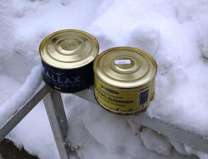 Химическая бомба в частном доме Еда, Шведский, Сюрстремминг, Химическая угроза