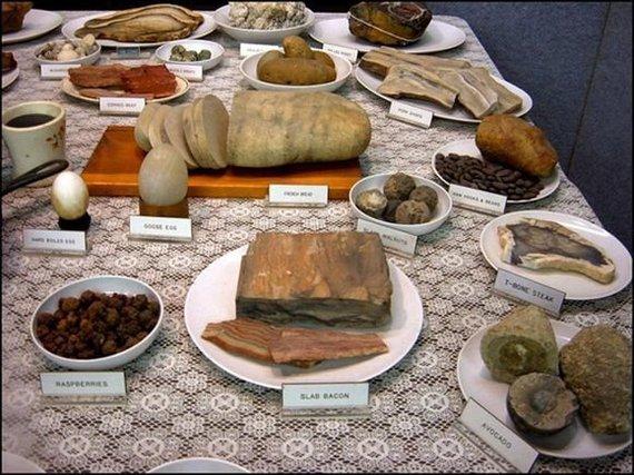 Еда, которая оставит вас без зубов Еда, Камень, Минералы, Минералогия, Сходство, Длиннопост