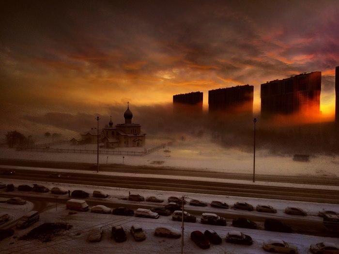 Этот город в огне... Санкт-Петербург, Фотография, Красивое